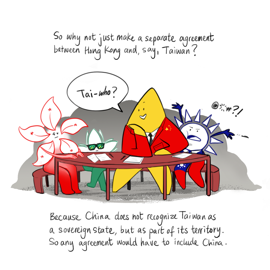 Hong Kong extradition bill comic 3
