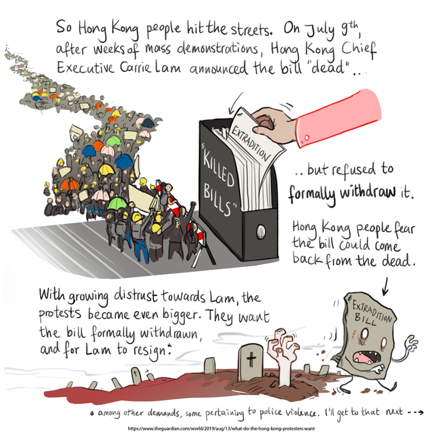 Hong Kong extradition bill comic 4